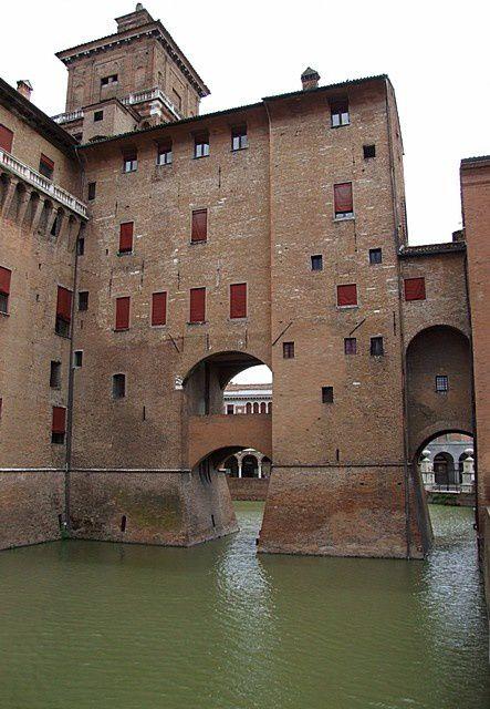 Diaporama château d'ESTENSE à Ferrara