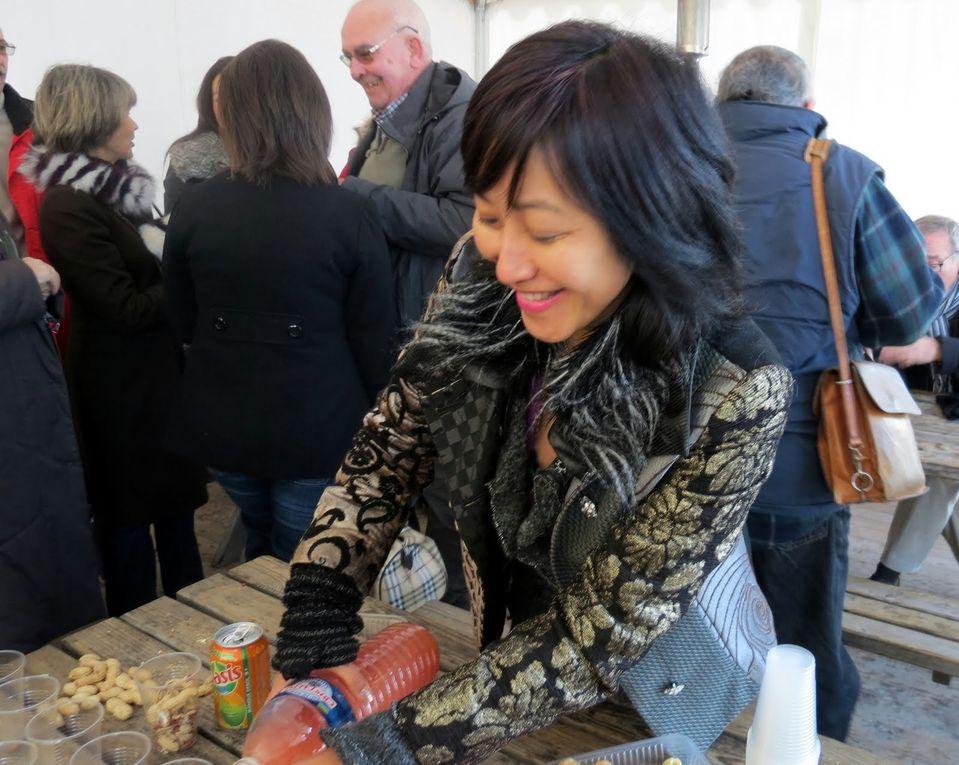 Les adhérents de Culture Viêt-Nam 17 à Bordeaux le 1er décembre chez EURASIE...