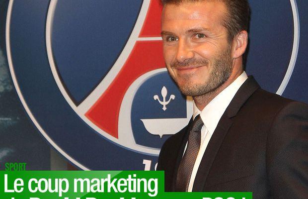 Le coup marketing de David Beckham au PSG !