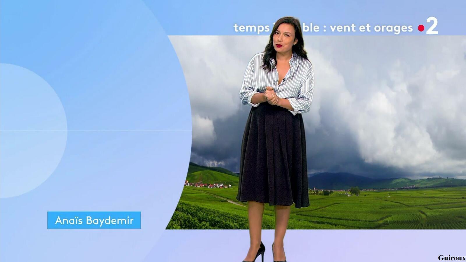 Anaïs Baydemir 30/07/2021 Journal météo du midi