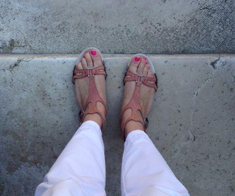 La sandale switch de Quechua et moi
