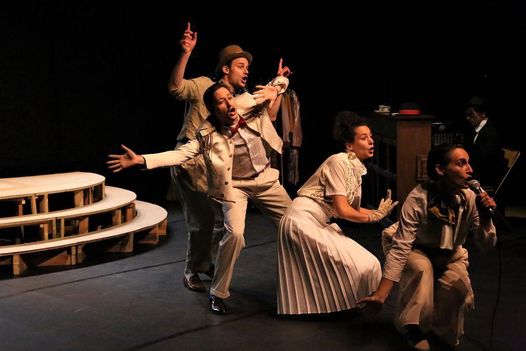 """Vendredi 25 juin 21h le Théâtre du Roi de Coeur dans """"Cabaret Levin"""""""