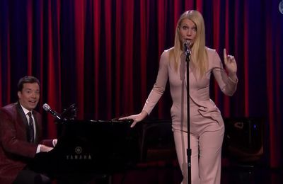 Quand Gwyneth Paltrow chante du Nicky Minaj chez Jimmy Fallon... - Vidéo