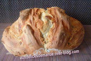 pain multi-céréales au levain