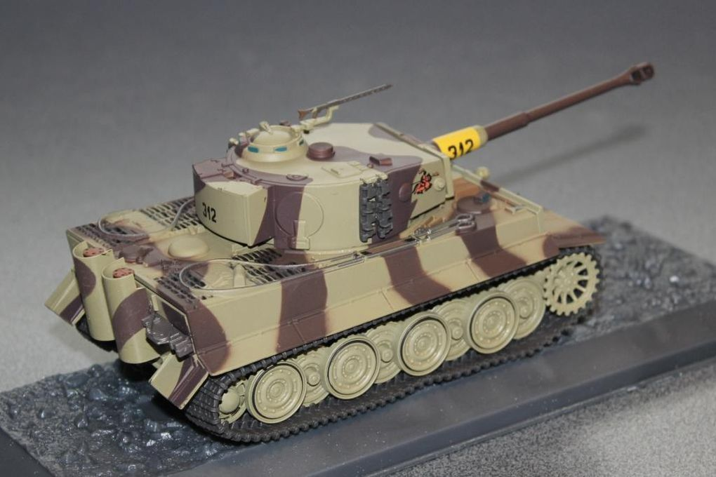 Collection-presse : chars de combat au 1/43 (Altaya)