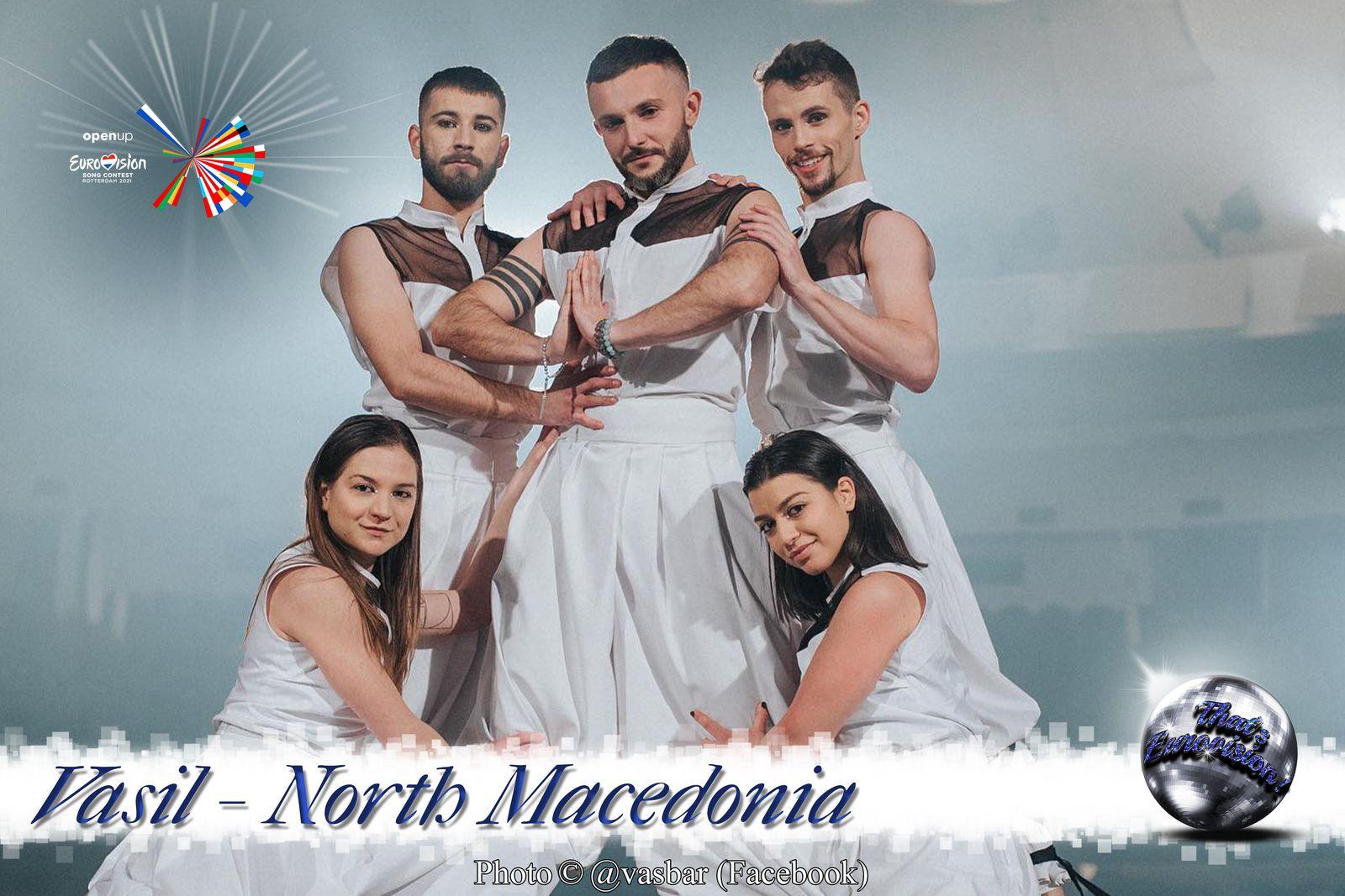 North Macedonia 2021 - Vasil (Here I Stand)