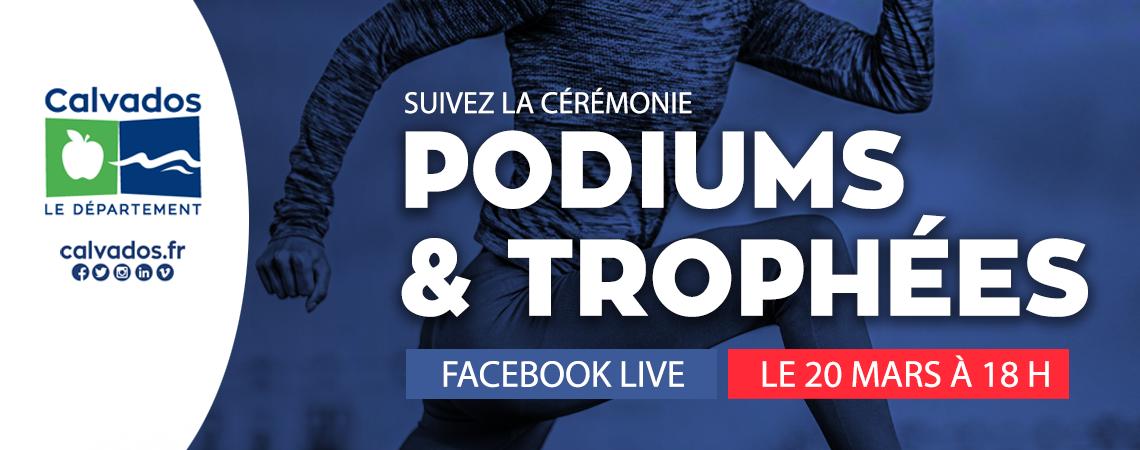 #CALVADOS - #SPORT - Cérémonie podiums et trophées, samedi 20 mars 2021 !