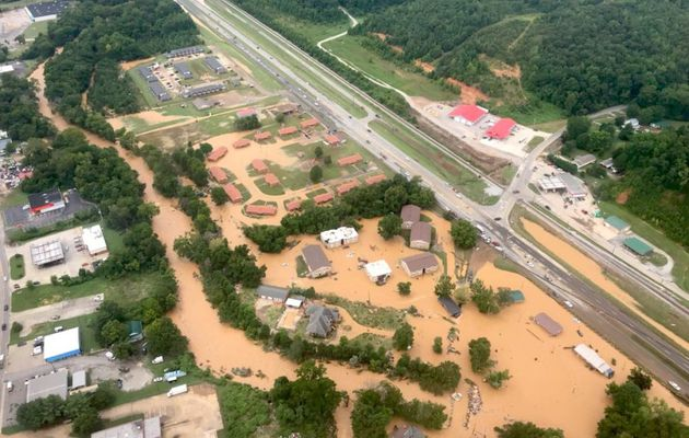 Inondations dans le Tennessee