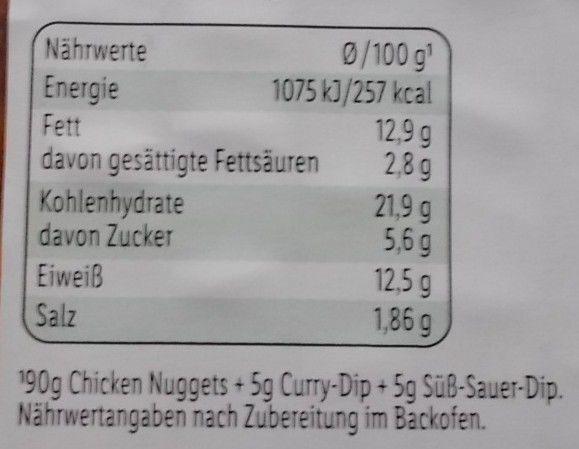 Lidl Chicken Nuggets ungarisch mit Dips nach funny-frisch Art