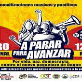 Manifestation aujourd'hui à Bogota contre la répression du gouvernement de Duque - Analyse communiste internationale