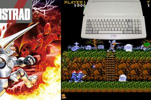 Amstrad CPC Preview - Ghosts'N Goblins CPC 6128 + (2020)