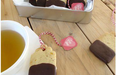 """Créa # 2 Bricole Box """"100% gourmande"""" : Des biscuits avec mon thé"""