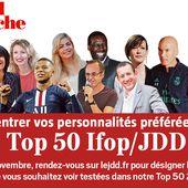 Top 50 du JDD : votez pour faire entrer vos personnalités préférées