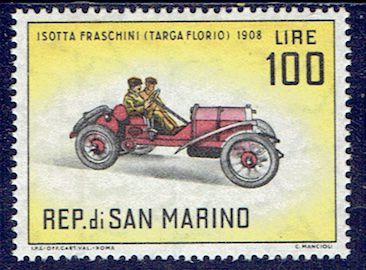 L'automobile Isotta Fraschini