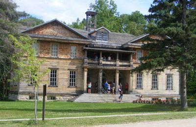 Le village historique de Val-Jalbert, à Chambord