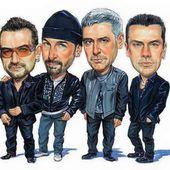 Caricature U2 - U2 BLOG