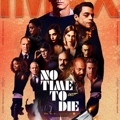 Latest poster designed for NO TIME TO DIE for our client IMAX India