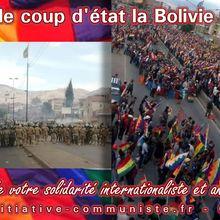 Bolivie : le plan de la bourgeoisie putschiste