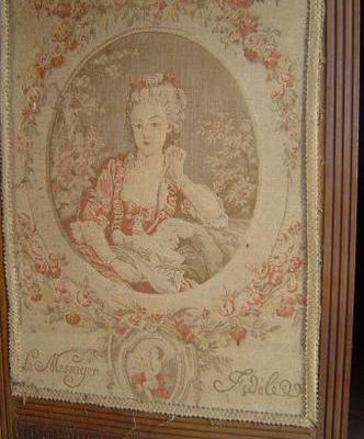 brocante : tapisserie et broderie