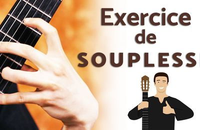 Exercices souplesse doigts