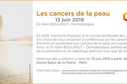Metz  Harmonie se Ligue contre le cancer de la peau ! Jeudi 13 juin