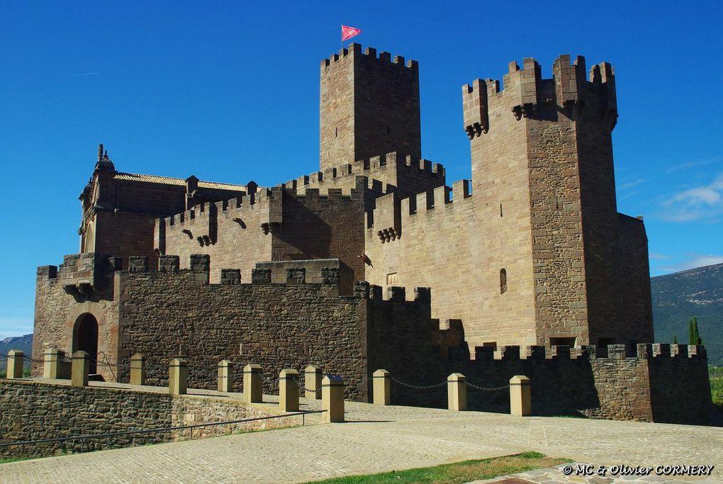Château de Javier et Sos del Rey Catolico...