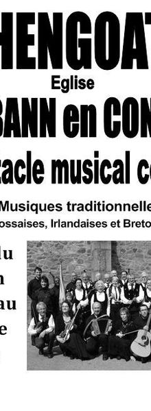 HENGOAT : Les Tribann en concert spectacle musical celtique le 7 Juillet 2012