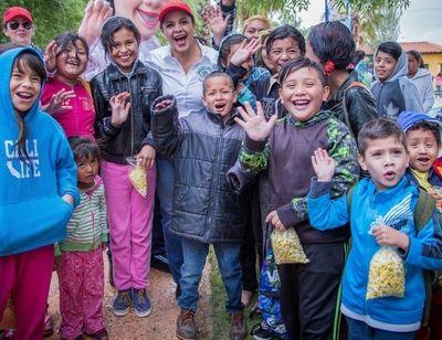 Senadora Merodio no se olvida de los niños de Juárez