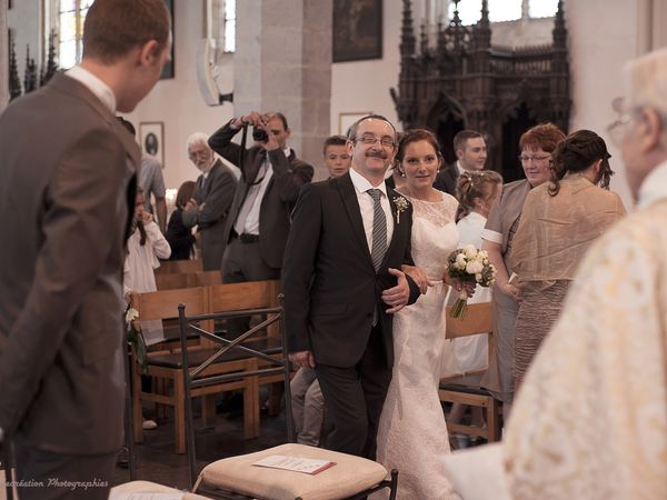 Mariage religieux D' Alexandra et Romain