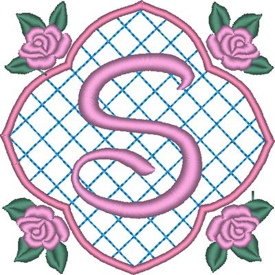 ABC aux 4 roses: la lettre S