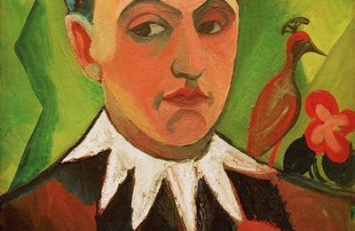 August Macke - Clown