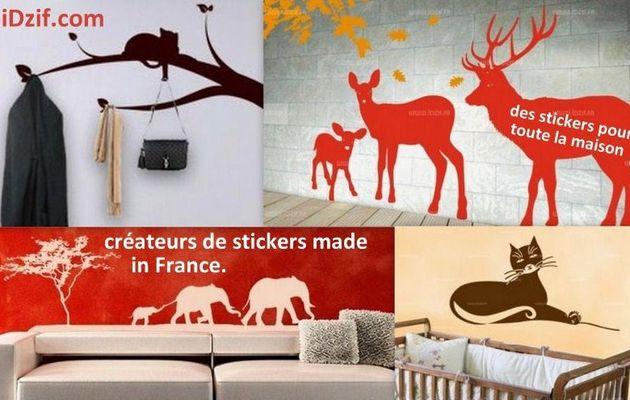 iDzif.com créateur de stickers made in France