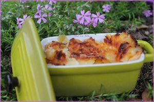 Lasagne poulet / Reblochon