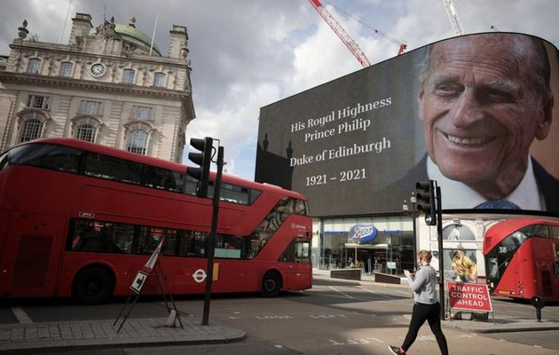 Prince Philip's death: Gun salutes and silence planned across Britain