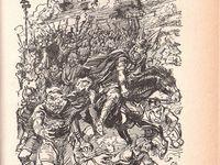 """J.-H. Rosny aîné """"Ambor le loup"""" (Gedalge - 1952) [édition rouge]"""