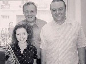 Lucienne, chez Feeling, avec Laurent et Jean-Claude Decalonne