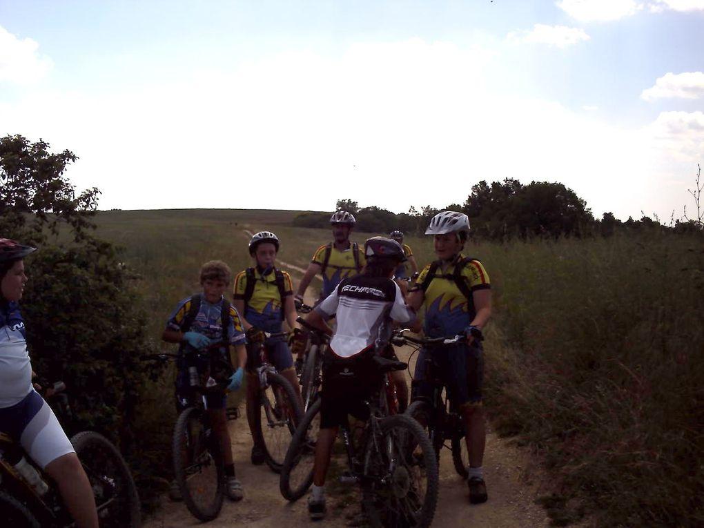 reconnaissance du 25 km pour la rando des rochers 2010