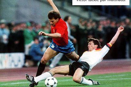Championnat d'Europe des nations 1988 en Allemagne de l'ouest, Groupe 1: Allemagne de l'ouest - Espagne