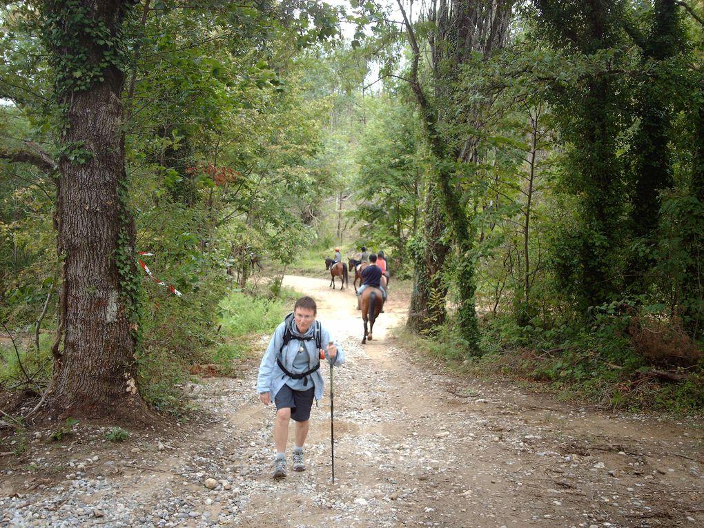Notre chemin de Gillonnay (38) à La Roche de Glun (26)