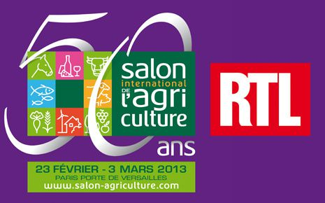 RTL en direct du 50e Salon International de l'Agriculture