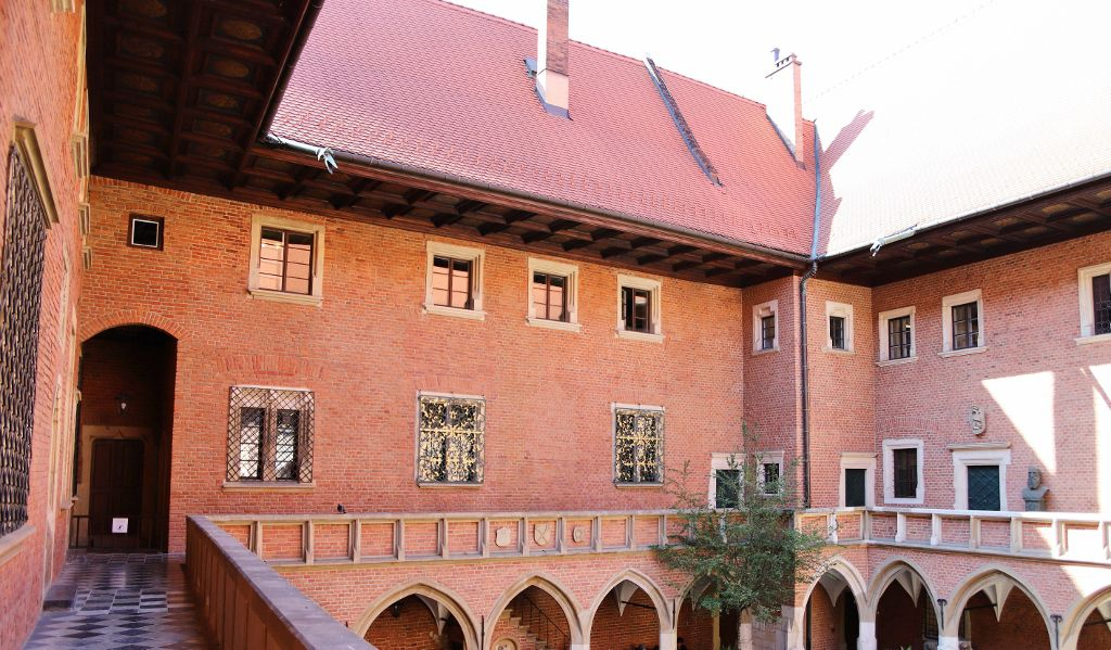 Cracovie, collegium Maius Pologne