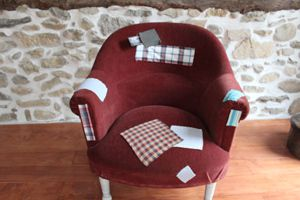 Grand Fauteuil Patchwork