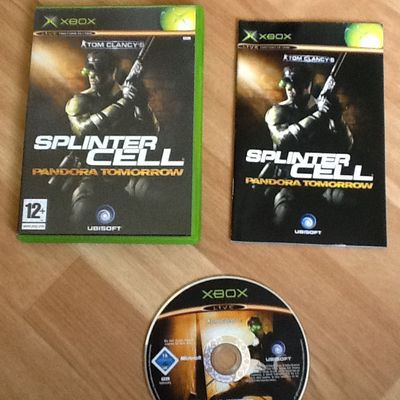 SPLITER CELL XBOX COMPLET