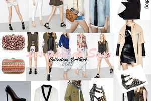 Zara   New Collection Printemps-été 2013