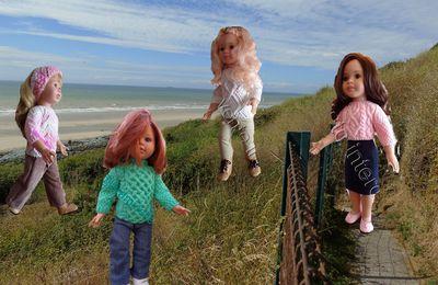 tutos gratuits  poupées  : mes grandes Paola reina dans la nature des
