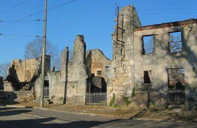 Communiqué à la suite des événements à Oradour-sur-Glane.