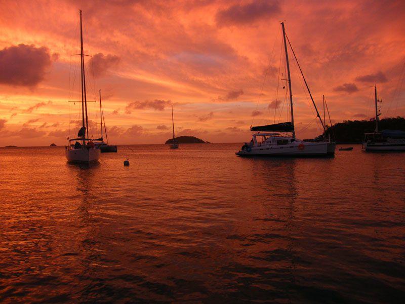 Photos et images de notre navigation dans les Grenadines.