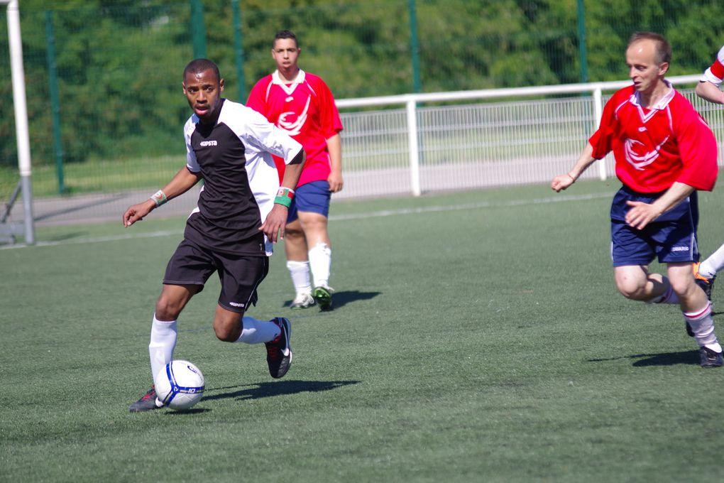 La Vénissiane sport adapté est devenue ce samedi matin championne Rhône Alpes de foot à 7 de Division 2.