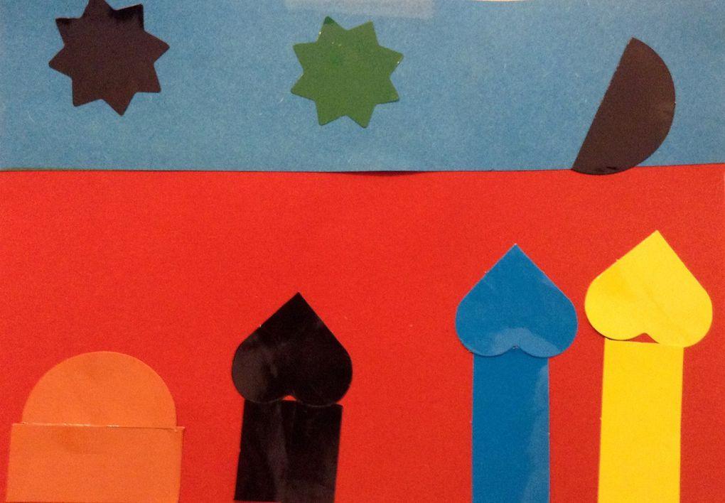 Trier les gommettes pour le groupe, un travail collectif autonome entre enfants (de maternelle)