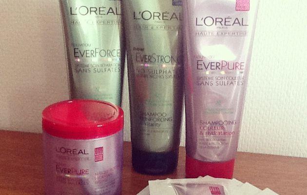 L'Oréal EverPure et EverForce : petit concours :)